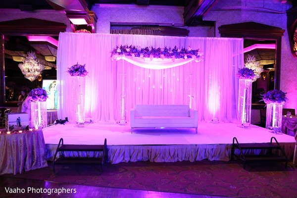 Sweetheart Stage in Woodbury, NY Sikh Wedding by Vaaho Photographers
