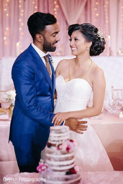 Toronto, Canada South Indian Fusion Wedding by Ovyian Photography ...