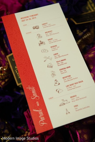 Stationery in Lincolnshire, IL Indian Wedding by Modern Image Studios