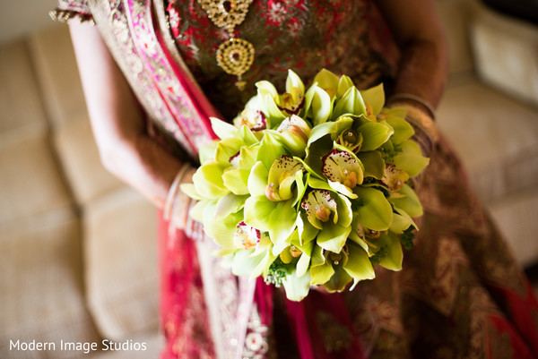Bridal Bouquet in Lincolnshire, IL Indian Wedding by Modern Image Studios