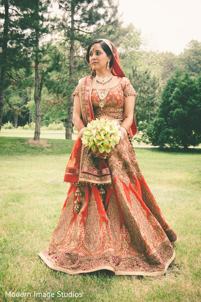 Bridal Fashion in Lincolnshire, IL Indian Wedding by Modern Image Studios