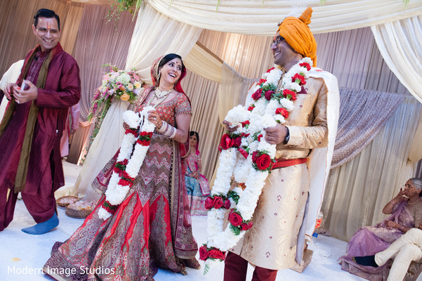 Ceremony in Lincolnshire, IL Indian Wedding by Modern Image Studios