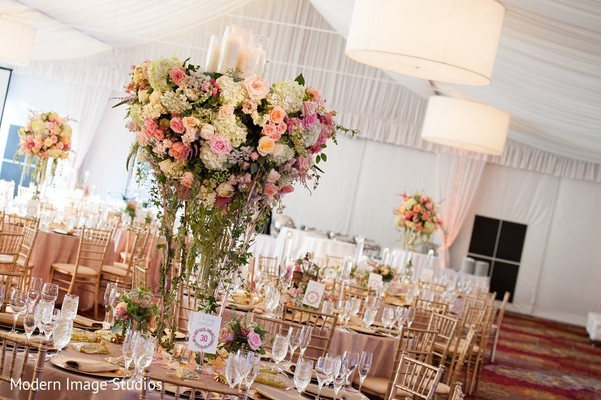 Floral & Decor in Lincolnshire, IL Indian Wedding by Modern Image Studios
