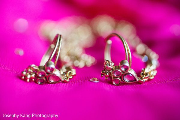 Bridal Jewelry in Chicago, IL Indian Wedding by Joseph Kang Photography