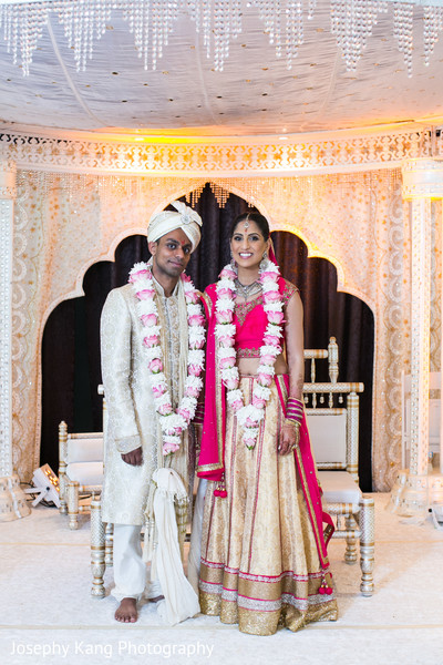Ceremony in Chicago, IL Indian Wedding by Joseph Kang Photography