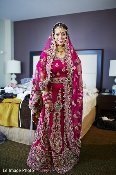 Bridal Fashion in Douglaston, NY Sikh Fusion Wedding by Le Image Photo
