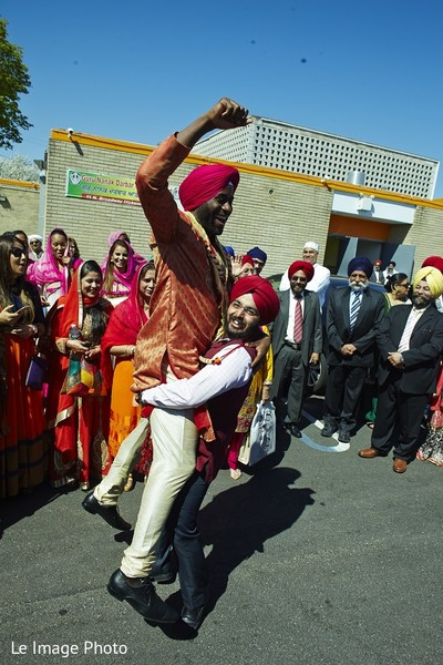Milni in Douglaston, NY Sikh Fusion Wedding by Le Image Photo