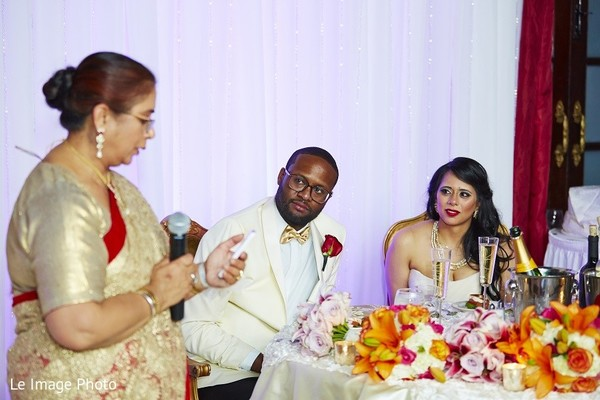 Reception in Douglaston, NY Sikh Fusion Wedding by Le Image Photo
