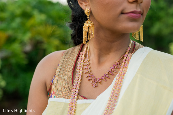 Bridal Jewelry in Tampa, FL South Indian Fusion Wedding by Life's Highlights