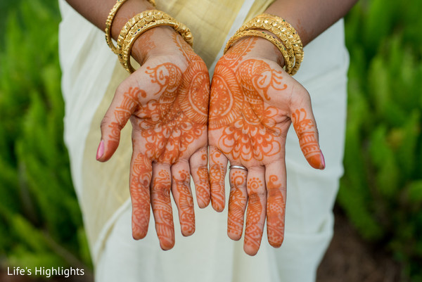 Mehndi in Tampa, FL South Indian Fusion Wedding by Life's Highlights