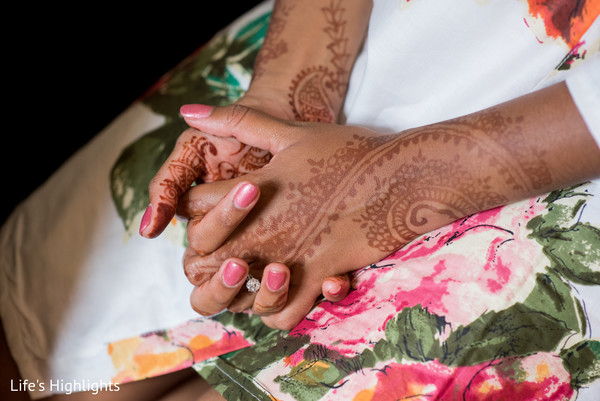 Getting Ready in Tampa, FL South Indian Fusion Wedding by Life's Highlights