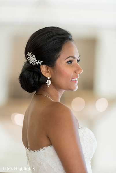 Hair in Tampa, FL South Indian Fusion Wedding by Life's Highlights