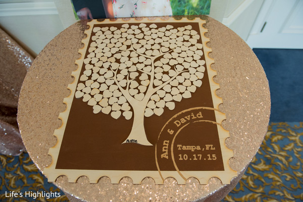 Guest Book in Tampa, FL South Indian Fusion Wedding by Life's Highlights