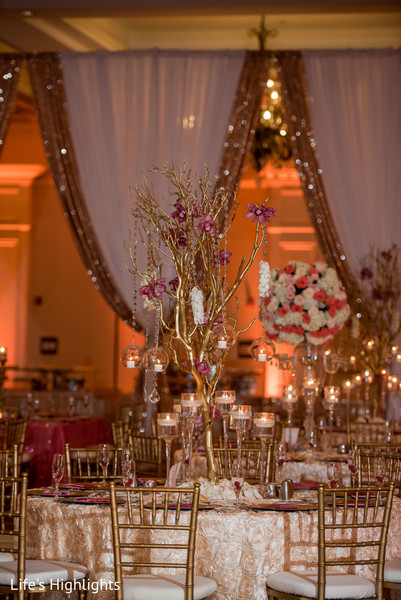 Floral & Decor in Tampa, FL South Indian Fusion Wedding by Life's Highlights