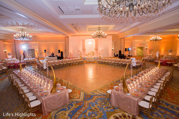 Venue & Decor in Tampa, FL South Indian Fusion Wedding by Life's Highlights