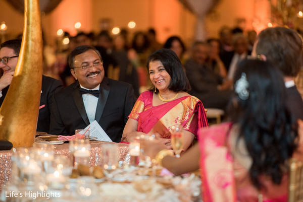 Reception in Tampa, FL South Indian Fusion Wedding by Life's Highlights