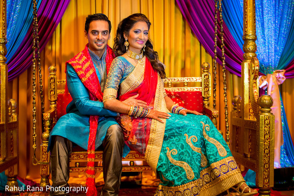 Garba Portrait in Oakbrook Terrace, IL Indian Wedding by Rahul Rana Photography