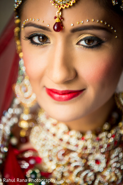 Makeup in Oakbrook Terrace, IL Indian Wedding by Rahul Rana Photography