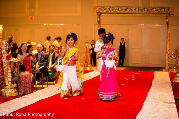 Ceremony in Oakbrook Terrace, IL Indian Wedding by Rahul Rana Photography