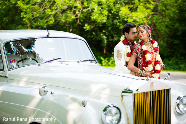 Wedding Portrait in Oakbrook Terrace, IL Indian Wedding by Rahul Rana Photography