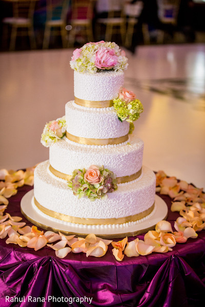Wedding Cake in Oakbrook Terrace, IL Indian Wedding by Rahul Rana Photography