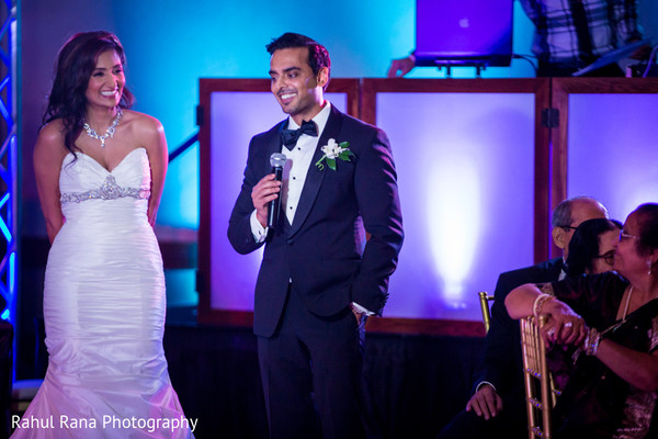 Reception in Oakbrook Terrace, IL Indian Wedding by Rahul Rana Photography