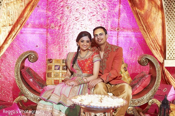 Garba in Norfolk, VA Hindu Fusion Wedding by Regeti's Photography