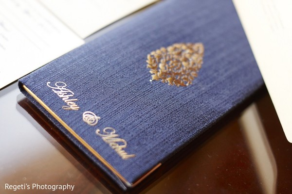 Stationery in Norfolk, VA Hindu Fusion Wedding by Regeti's Photography