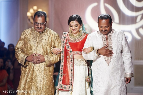 Ceremony in Norfolk, VA Hindu Fusion Wedding by Regeti's Photography