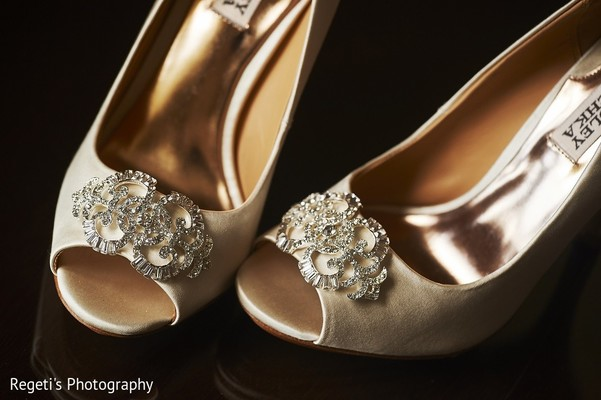 Shoes in Norfolk, VA Hindu Fusion Wedding by Regeti's Photography
