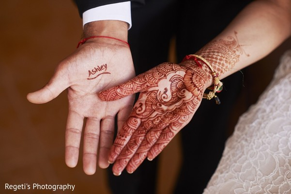 Mehndi in Norfolk, VA Hindu Fusion Wedding by Regeti's Photography