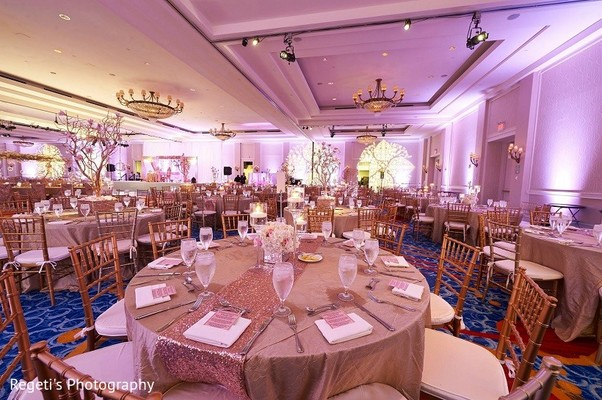 Floral & Decor in Norfolk, VA Hindu Fusion Wedding by Regeti's Photography