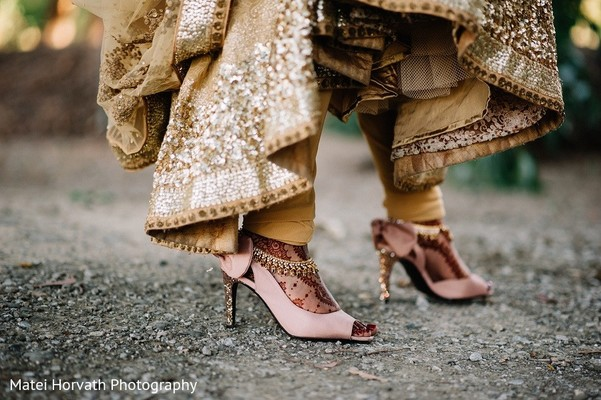 Shoes in San Jose, CA Sikh Wedding by Matei Horvath Photography