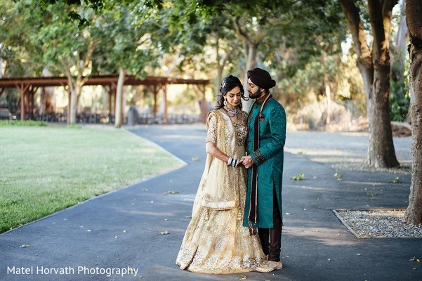 Pre-Wedding Portrait in San Jose, CA Sikh Wedding by Matei Horvath Photography