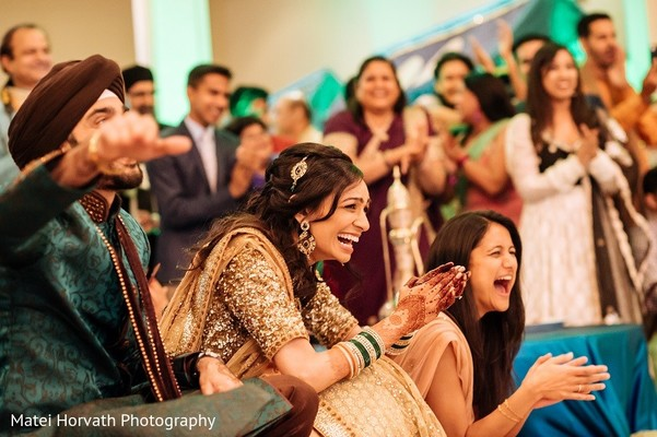 Sangeet in San Jose, CA Sikh Wedding by Matei Horvath Photography