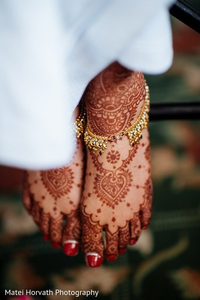 Mehndi in San Jose, CA Sikh Wedding by Matei Horvath Photography