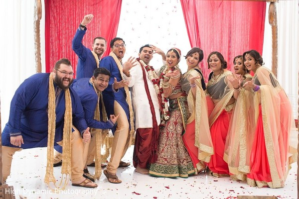 Ceremony in Itasca, IL Indian Wedding by High Dynamic Photography