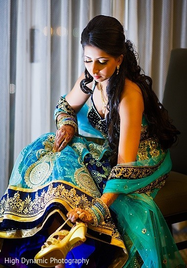 Getting Ready in Itasca, IL Indian Wedding by High Dynamic Photography