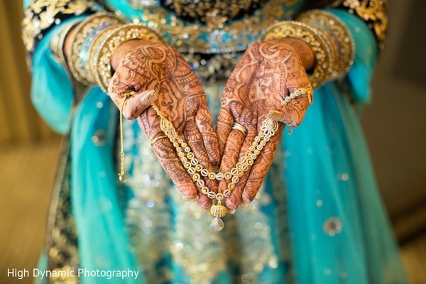 Bridal Jewelry & Mehndi in Itasca, IL Indian Wedding by High Dynamic Photography