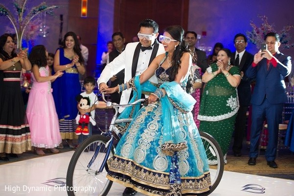Reception in Itasca, IL Indian Wedding by High Dynamic Photography