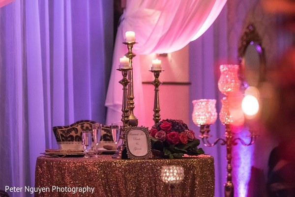 Floral & Decor in Atlanta, GA Indian Wedding by Peter Nguyen Photography