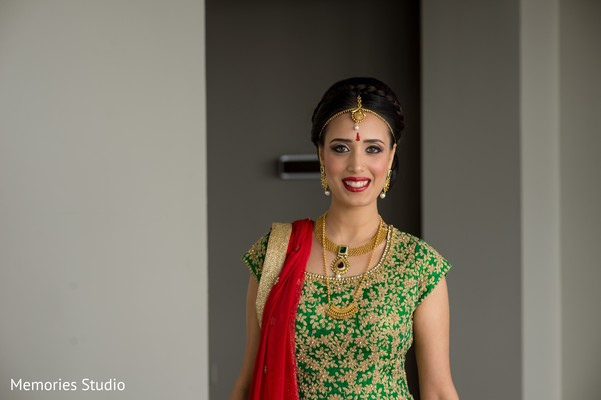 Bridal Portraits in Long Branch, NJ Indian Wedding by Memories Studio