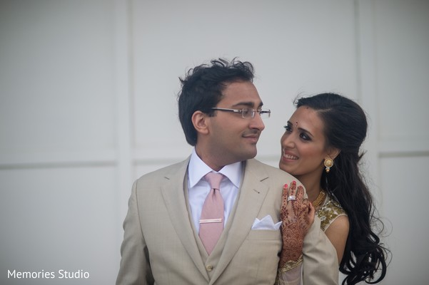 Reception Portraits in Long Branch, NJ Indian Wedding by Memories Studio