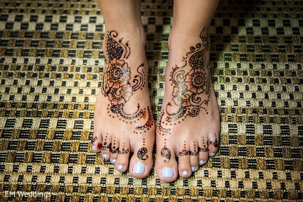 Mehndi in Los Cabos, Mexico Indian Fusion Destination Wedding by EM Weddings