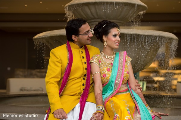 Sangeet Portraits in Long Branch, NJ Indian Wedding by Memories Studio