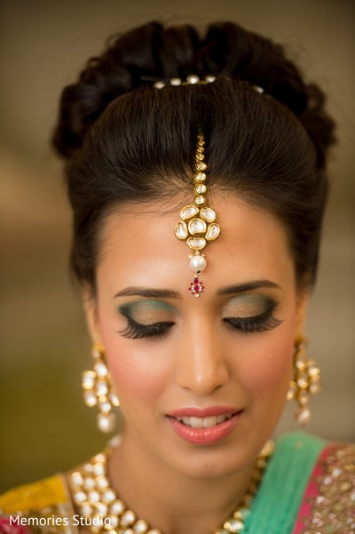 Makeup in Long Branch, NJ Indian Wedding by Memories Studio