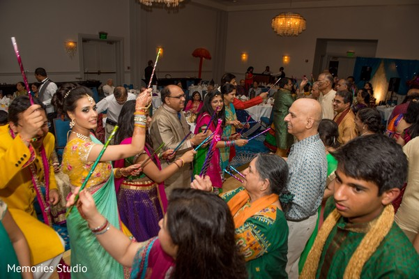 Sangeet in Long Branch, NJ Indian Wedding by Memories Studio