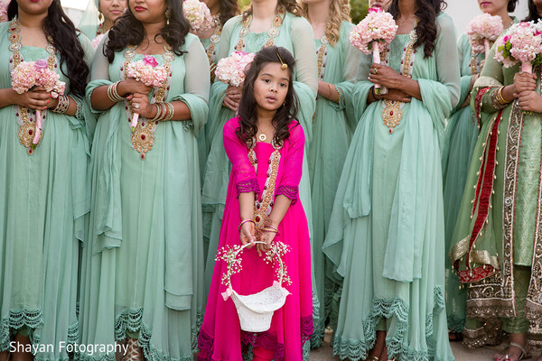 Flower Girl in Manassas, VA South Asian Wedding by Shayan Fotography