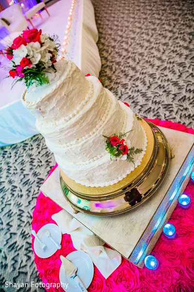 Wedding Cake in Manassas, VA South Asian Wedding by Shayan Fotography