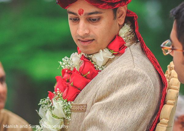 Outdoor Hindu Wedding in Hudson, NY Indian Wedding by Manish and Sung Photography
